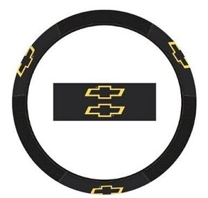Chevy Chevrolet Truck Car New Steering Wheel Cover Leather