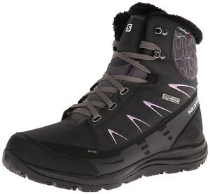 Brand New Salomon Kaina Mid CS WP Winter Waterproof Boots London Ontario image 1