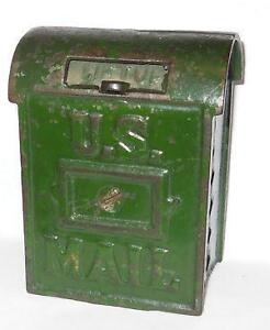 Cast Iron US Mail Boxes