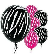 Zebra Print Party Supplies