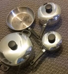 Stainless Steel 4 pc Cookware