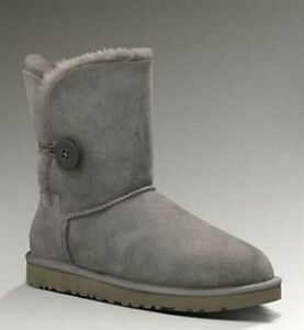 Grey UGG Bailey Button Boots 5803