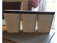 Next tea coffee & sugar jars