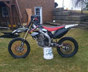 Rebuilt 2005 crf450r dirtbike
