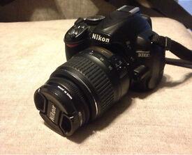 Nikon d3100 with extra lens