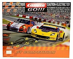 Carrera Go!!! GT Competition Slot Racing System (Porsche & Corve