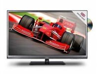 Goodmans GVLEDHD32DVD 32-inch Widescreen LED HD 1080p TV with Freeview and Built-In DVD Player
