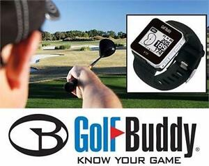 NEW GOLF BUDDY GPS RANGE FINDER   VT3 Voice Smart Watch Touch Screen GPS Range Finder SPORTING GOODS 92171020