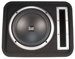 """SBX100 10"""" Subwoofer in a Vented Enclosure $100.00 for Both"""