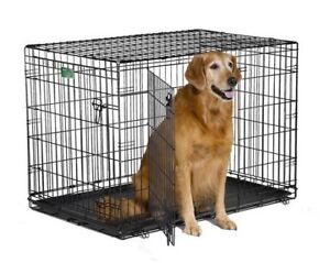 "42""x28""x28"" 2 door large dog crate"