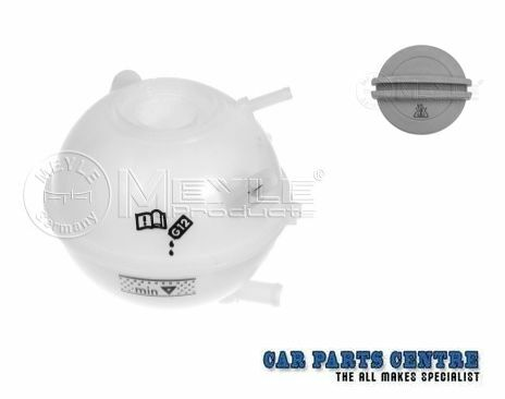 FOR Audi A3 S3 Golf MK4 Bora Meyle Coolant Tank Reservoir and Cap Expansion Tank