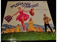Sound of Music Vinyl LP with booklet