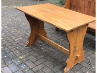 WOODEN KITCHEN DINING TABLE