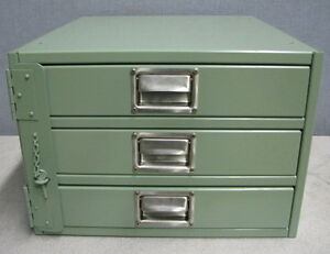 PARTS CABINET 3 DRAWER LOCKABLE