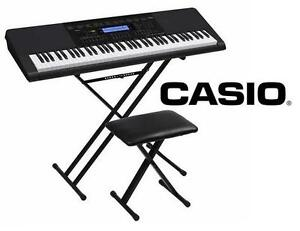 NEW CASIO KEYBOARD W/ STAND  BENCH Musical Instruments  Electronics PIANO 109428634