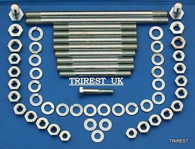 TRIUMPH PRE UNIT  ENGINE  ENGINE PLATE TO FRAME FITTINGS 1960 TO 1962