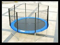 BRAND NEW!!!   12 Ft diameter Trampoline and Net Enclosure