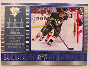 Carte Sidney Crosby - Game day action - Tim Horton