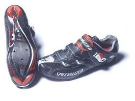 Fantastic Specialized BG Pro Carbon X-Link Road Shoes Size 8 (EU 42) with Look Keo cleats