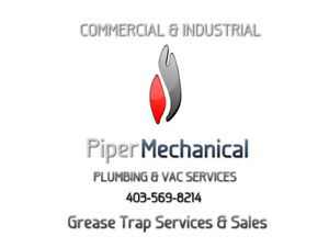 PIPER MECHANICAL GREASE TRAP AND CLEANING SERVICES