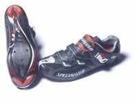 Specialized BG Pro Carbon X-Link Road Shoes Size 8, EU 42 + Keo cleats or swap for similr size 47/48