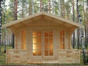 Swiss chalet style Solid Pine Tiny Timber House, garden shed,bunkie.- CHRISTMAS BLOW OUT SALE!!!