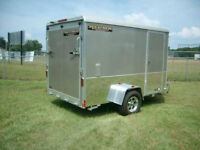 WANTED - USED CARGO TRAILER or HAULER enclosed 7'x14 UP TO 8'x16