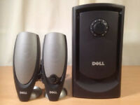 Dell Powered 2.1 Multimedia Speakers+Subwoofer 3.5mm Zylux A425