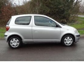 2003 Toyota Yaris 3Door 1.0 Petrol Cheap Reliable Car 2 Previous Owner 1 Yr MOT Full Service History