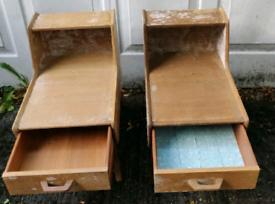 X 2 children's/small desks.