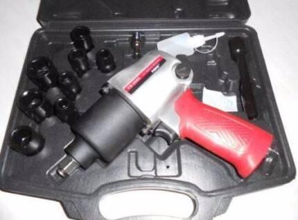 "BNIB 1/2"" Air Impact Gun Kit, Plastic Case, $10 off Normal Price!"