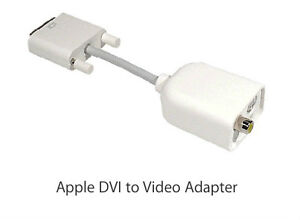 Apple DVI to Video Adapter