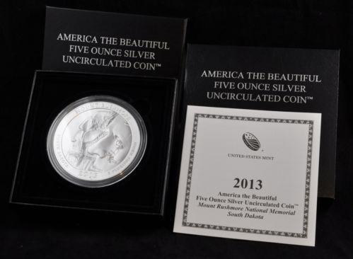 America The Beautiful 5 Oz Silver Coin Ebay