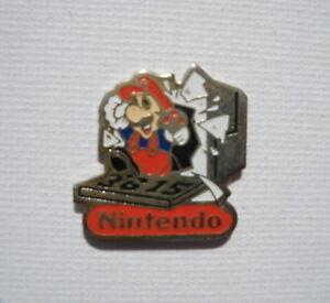 Super-Mario-Bros-3615-Nintendo-Promo-Enamel-Metal-Pin-Badge-Pins-Pins-RARE-Club