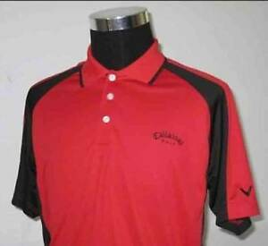 NEW CALLAWAY GOLF CLUB SHIRT, SIZES MED, LARGE, X-LARGE.