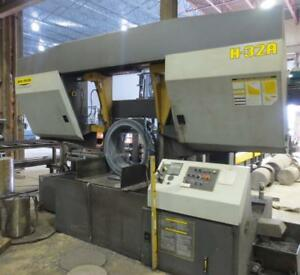 "32"" X 32"" HYD-MECH, H-32A, 2004, FULLY AUTOMATIC HORIZONTAL SAW"