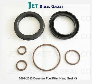 twin pack duramax deluxe fuel filter head rebuild seal kit with viton o rings | ebay 2006 duramax fuel filter housing 02 duramax fuel filter housing rebuild kit #15