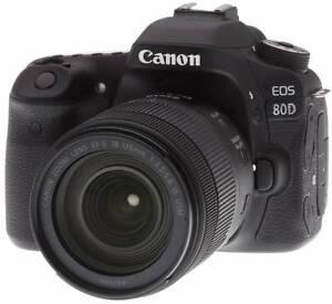 Canon EOS 80D DSLR Camera with 18-55mm IS Lens Flemington Melbourne City Preview