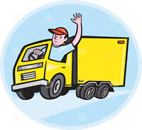 Looking to hire a Part-Time Truck Driver & Mover