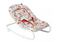 Brand new Baby Rocco Cotton Tail - bouncer/rocker