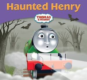 NEW - THOMAS and FRIENDS ( HAUNTED HENRY )  small book STORY LIBRARY