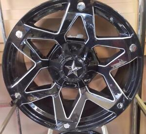 GOT CONCAVE!! WE DO!! 20X10 CRAZY CONCAVE TRUCK WHEELS! ram 1500 ford f150 chevy 1500 4 runner toyota tundra - DFD 6052