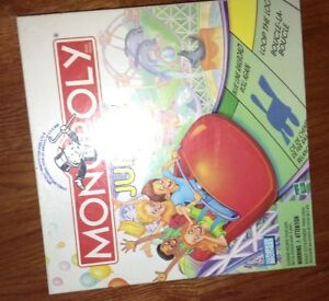 New condition Monopoly Jr game for sale London Ontario image 1