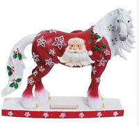 FIGURINE HORSE OF A DIFFERENT COLOUR - CHRISTMAS 6.5""
