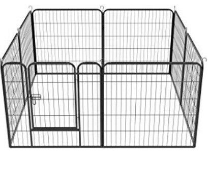 £35 - AS NEW Yaheetech 8 Panel Puppy/dog/cat/rabbit Playpen , used for sale  Coventry, West Midlands