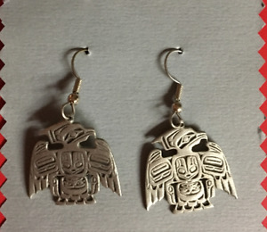 Native Earrings Pewter