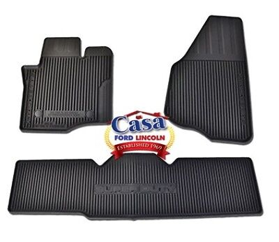 Oem Mats - New OEM Floor Mats All-Weather Thermoplastic Rubber, 2011-2016 F250 Super Cab