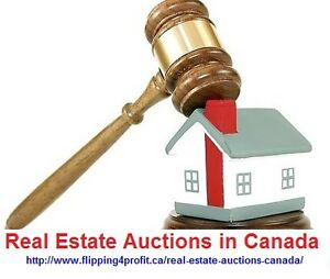 Real Estate auctions in Canada List