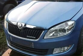 Skoda fabia roomster complete front end 10-14