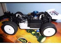 Rc car swops for moped